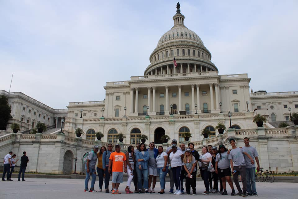 Members of the HCCC Community visiting the  United States Congress Office