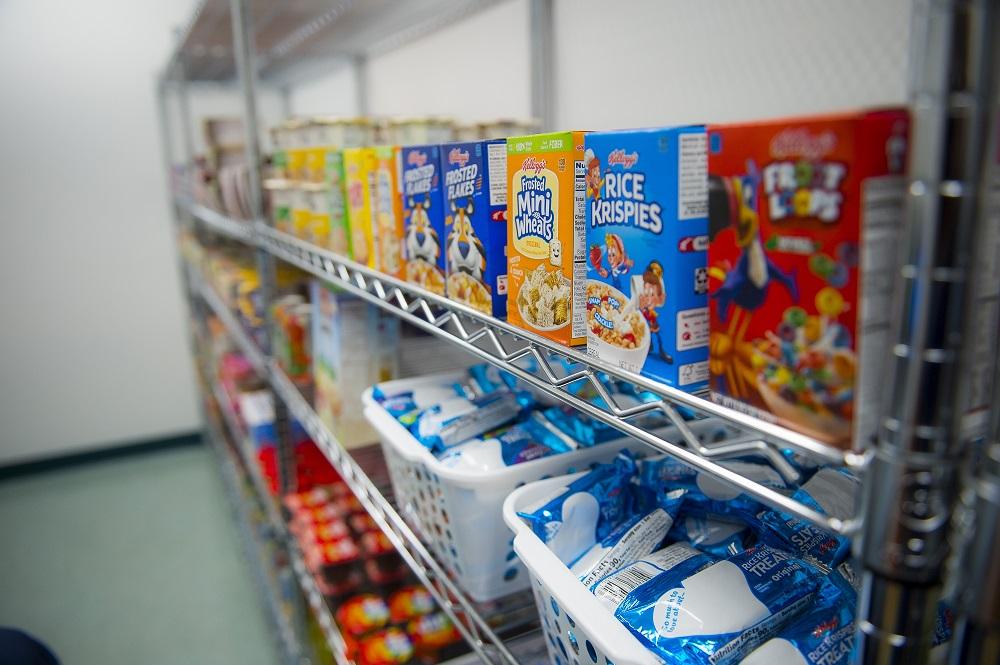 NHC Food Pantry grand opening.