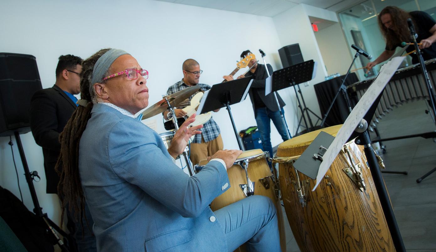 Brazilian jazz featuring HCCC Professor Eldad Tarmu